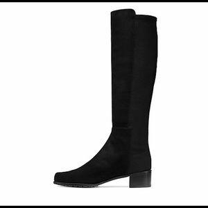 Stuart Weitzman  Sued leather boots Mezzamezza